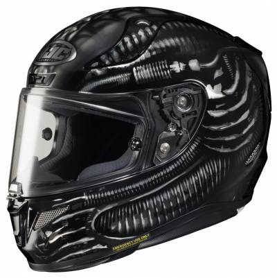 HJC Helm RPHA11 Aliens Fox MC5, schwarz-grau-silber