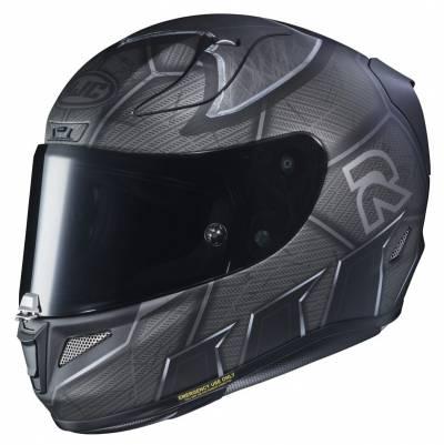 HJC Helm RPHA11 Batman MC5SF, schwarz-silber matt