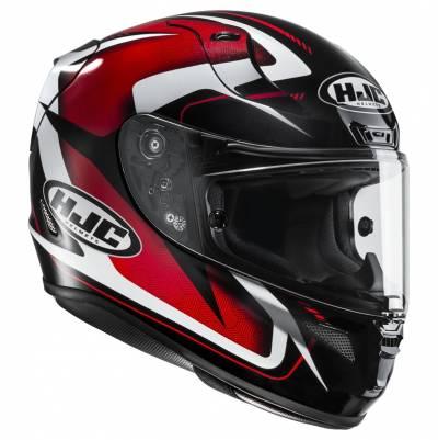 HJC Helm RPHA11 Bludom MC1, schwarz-rot-weiß