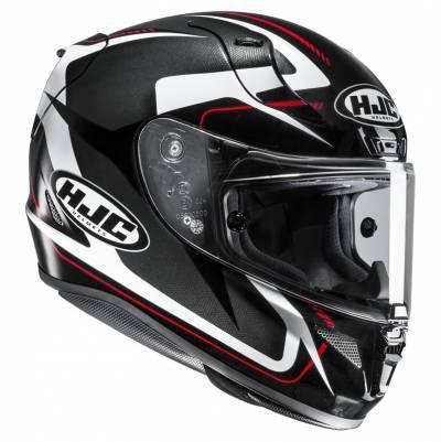 HJC Helm RPHA11 Bludom MC5, schwarz-weiß-rot