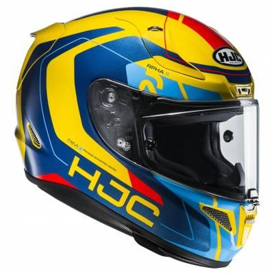 HJC Helm RPHA11 Chakri MC23, blau-gelb-rot