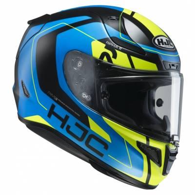 HJC Helm RPHA11 Chakri MC24HSF, blau-gelb-schwarz-matt