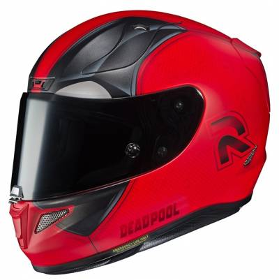 HJC Helm Rpha11 Deadpool 2 Marvel MC1SF, rot-schwarz matt