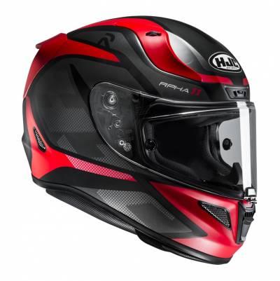 HJC Helm RPHA11 Deroka MC1SF, schwarz-rot matt
