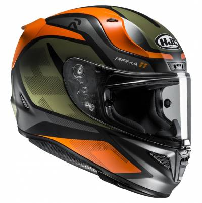 HJC Helm RPHA11 Deroka MC7SF, schwarz-orange matt