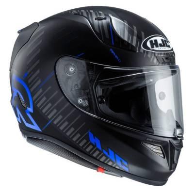 HJC Helm Rpha11 Epik Trip MC1SF, schwarz-blau-matt