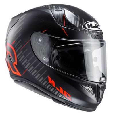 HJC Helm Rpha11 Epik Trip MC1SF, schwarz-rot-matt