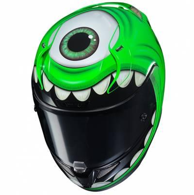 HJC Helm RPHA11 Mike Wazowski Disney MC4, grün-schwarz-weiß
