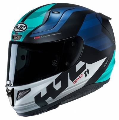 HJC Helm RPHA11 Naxos MC2SF, schwarz-blau-türkis
