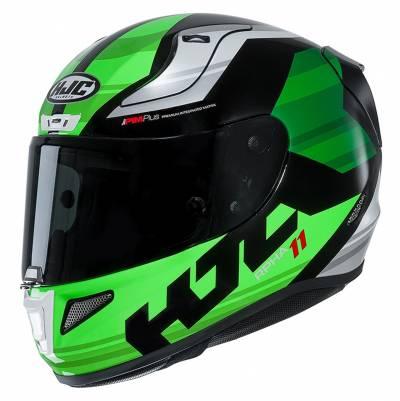 HJC Helm RPHA11 Naxos MC4, grün-schwarz-weiß