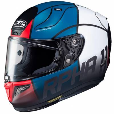 HJC Helm RPHA11 Quintain MC21SF, rot-blau-weiß-schwarz