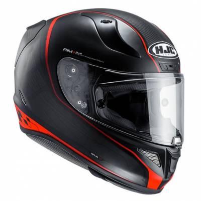HJC Helm RPha11 Riberte MC1SF, schwarz-rot