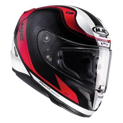 HJC Helm RPha11 Riomont MC1, schwarz-rot-weiß