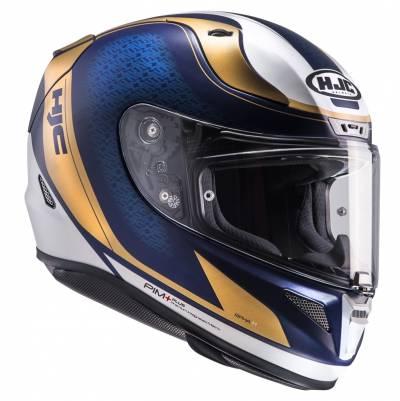 HJC Helm RPHA11 Riomont MC9SF, blau-gold-weiß
