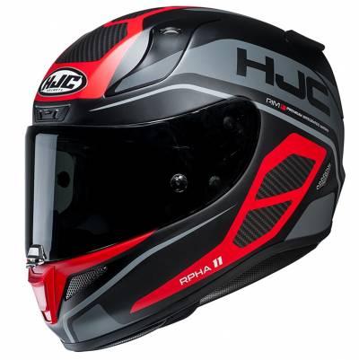 HJC Helm RPHA11 Saravo MC1SF, schwarz-rot-grau matt