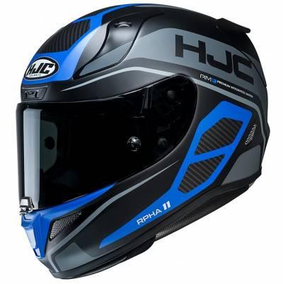 HJC Helm RPHA11 Saravo MC2SF, schwarz-blau-grau