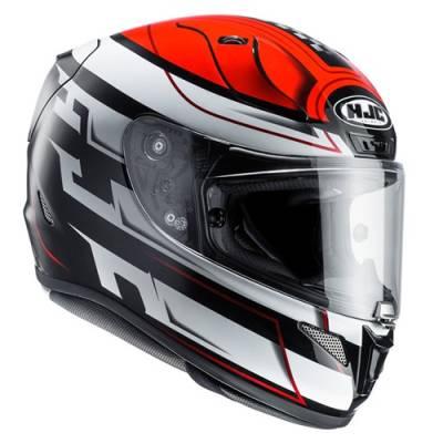 HJC Helm RPha11 Skyrym MC1, schwarz-weiß-rot