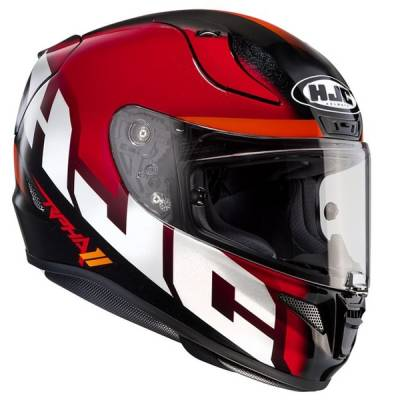 HJC Helm RPha11 Spicho MC1, rot-schwarz-orange