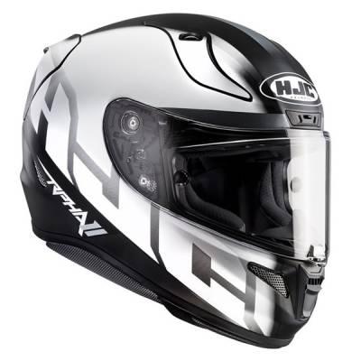 HJC Helm RPha11 Spicho MC10SF, schwarz-weiß-silber