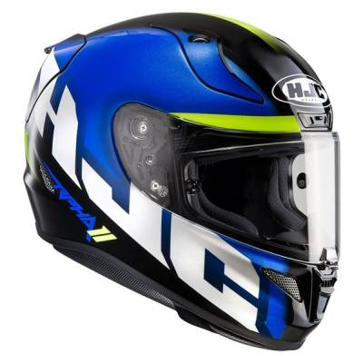 HJC Helm RPha11 Spicho MC2, blau-schwarz-fluogrün