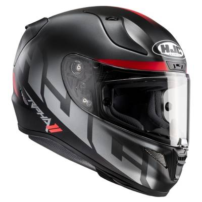 HJC Helm RPha11 Spicho MC5SF, anthrazit-schwarz-rot matt