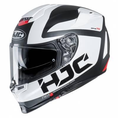 HJC Helm RPHA70 Balius MC10SF, weiß-schwarz-rot