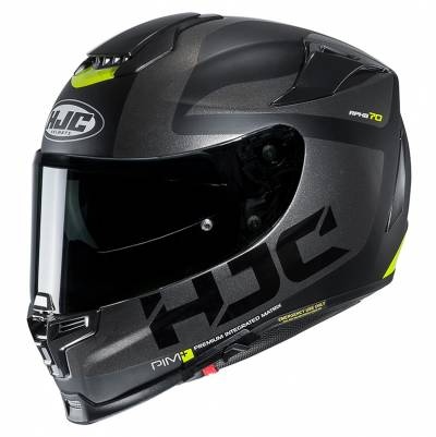 HJC Helm RPHA70 Balius MC5SF, schwarz-silber-gelb