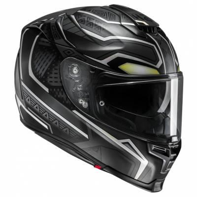 HJC Helm RPHA70 Black Panther Marvel MC5SF, schwarz-grau weiß matt