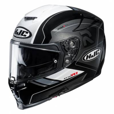 HJC Helm RPHA70 Coptic MC5, schwarz-weiß-silber