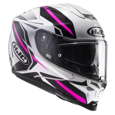 HJC Helm  RPHA70 Dipol MC8, weiß-schwarz-pink