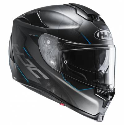 HJC Helm RPHA70 Gadivo MC2SF, schwarz-grau-blau matt