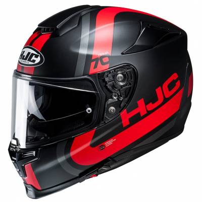 HJC Helm RPHA70 Gaon MC1SF, schwarz-rot-silber