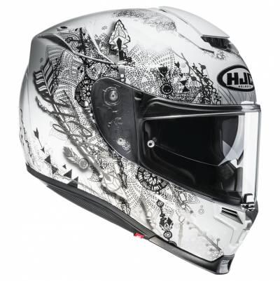 HJC Helm RPHA70 Hanoke MC5, weiß-schwarz-grau