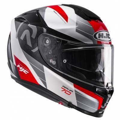 HJC Helm RPHA70  Lif MC1, weiß-rot-silber-schwarz