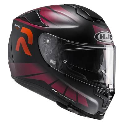 HJC Helm RPHA70 Octar MC7SF, schwarz-rot-orange matt