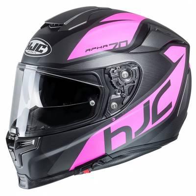 HJC Helm RPHA70 Pinot MC8SF, schwarz-pink matt