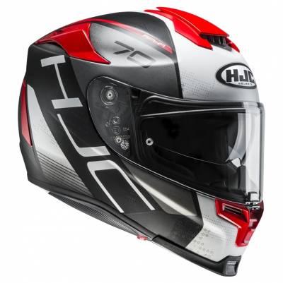 HJC Helm RPHA70 Vias MC1SF, schwarz-weiß-rot matt