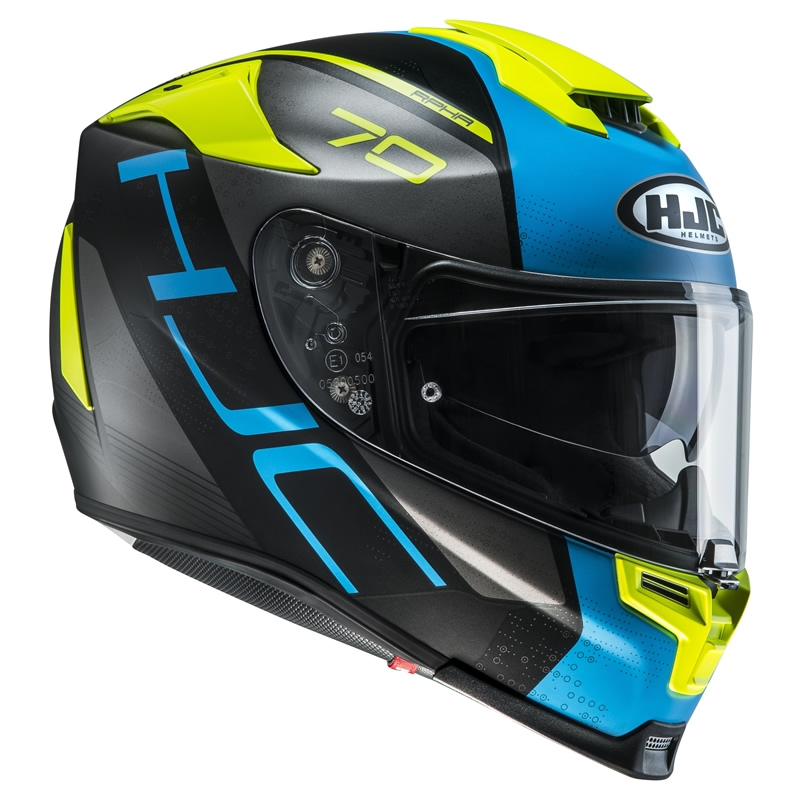 Gr/ö/ße XL Schwarz//Wei/ß//Rot HJC Motorradhelm RPHA 70 Vias MC1SF