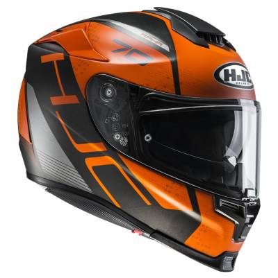 HJC Helm RPHA70 Vias MC7SF, schwarz-orange matt