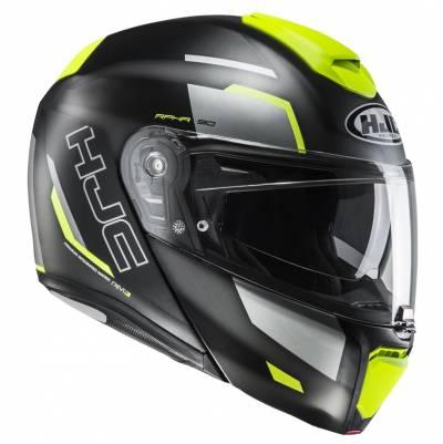 HJC Helm RPHA90 Rabrigo MC4HSF, schwarz-fluogelb matt