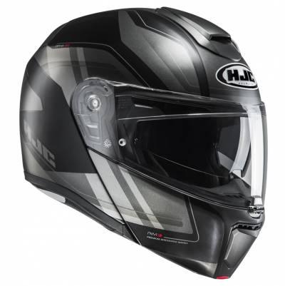 HJC Helm RPHA90 Tanisk MC5SF, schwarz-grau-matt