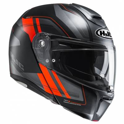 HJC Helm RPHA90 Tanisk MC6HSF, schwarz-fluo-orange
