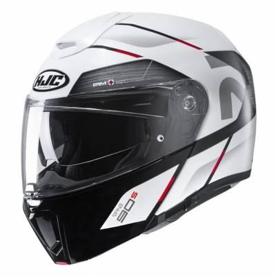 HJC Helm RPHA90S Bekavo, weiß-schwarz-rot
