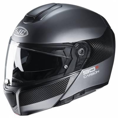 HJC Helm RPHA90S Carbon Luve MC5SF, schwarz-silber matt