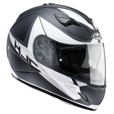 HJC Helm TR-1 Revolt MC-5F, schwarz-weiß-silber