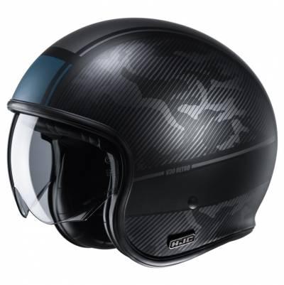 HJC Helm V30 Alpi MC5SF, schwarz-blau matt