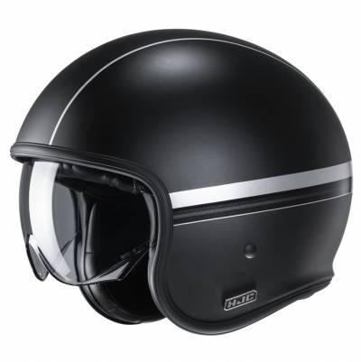 HJC Helm V30 Equinox MC5SF, schwarz-silber matt