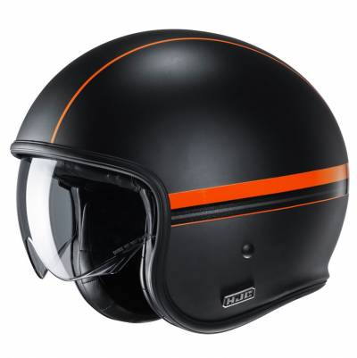 HJC Helm V30 Equinox MC7SF, schwarz-orange matt