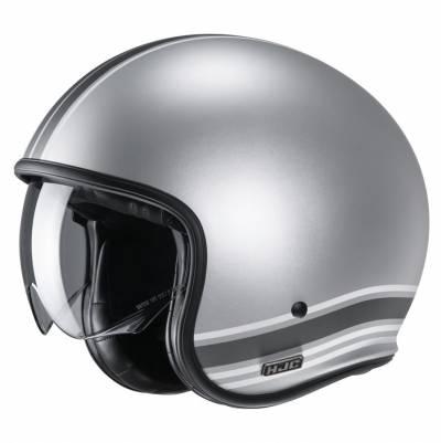 HJC Helm V30 Senti MC10SF, silber-grau matt