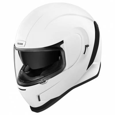 icon Helm Airform Gloss, weiß